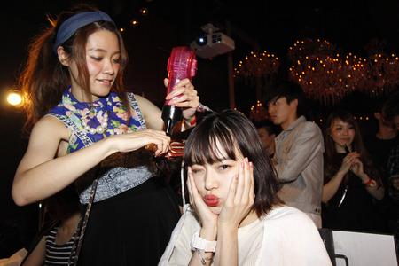 NAILON11周年記念パティーでヘアアレンジブースを開催!