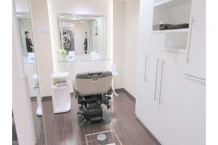 プライバシーを重視した個室でサービスをご提供。