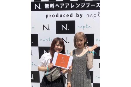 サマソニヘアアレンジブース参戦☆2年目スタッフ大活躍☆