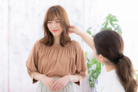 自分で作ったスタイルを喜んでもらえるのが美容師のやりがい!