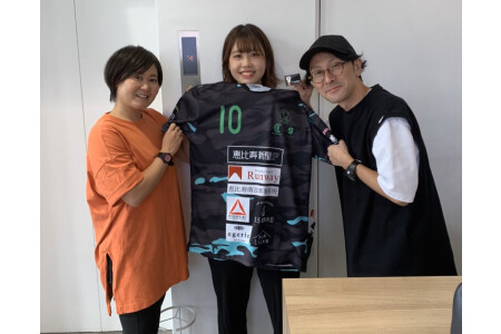 渋谷区のサッカーチーム・チアダンスに協賛企業として協力♪