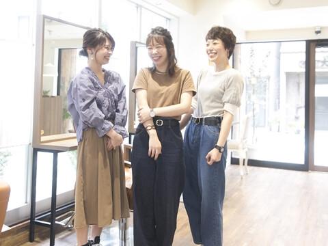 amie(自由が丘店) chouchou(旗の台店) Petite(武蔵小山店)