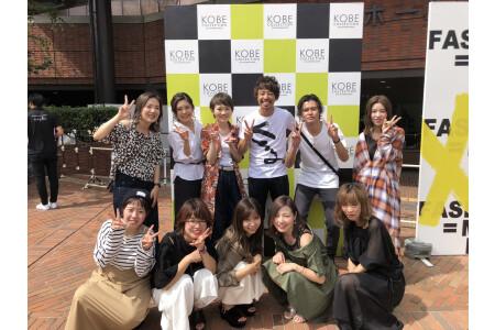 入社1年目のスタッフも神戸コレクションに参加!
